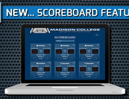 SportReporting.com – New Team Scoreboard & Improved Support